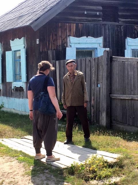 интервью со старожилом с. Адамово